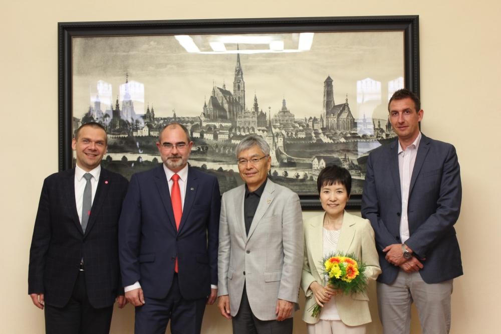 大宮実行委員長プルゼニ2015公式訪問