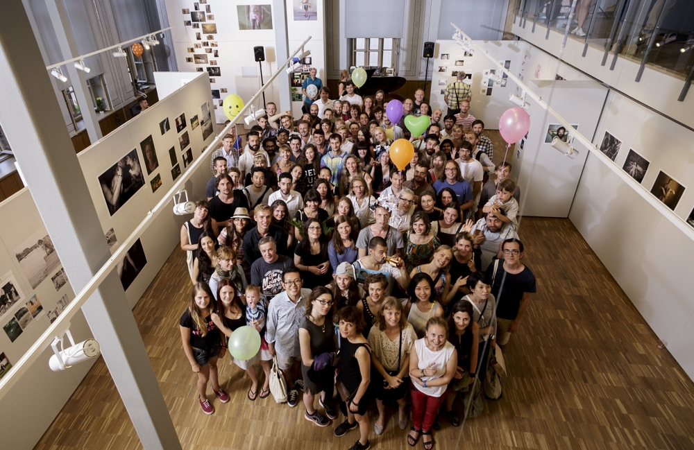 Yurie Nagashima's masterclass at International Summer School of Photography (Riga2014)
